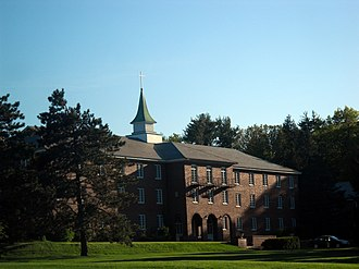 Saint Anselm Abbey (New Hampshire) - Image: Saint Anselm Abbey Manchester NH