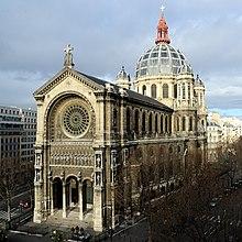 St augustin paris wikipedia for Architecte st eustache