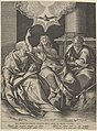 Saint Peter, Saint Paul, and Saint John the Baptist MET DP836854.jpg