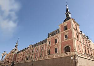 Hall of Realms - Exterior of the Salón de Reinos