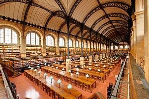 Salle de lecture Bibliotheque Sainte-Genevieve n01