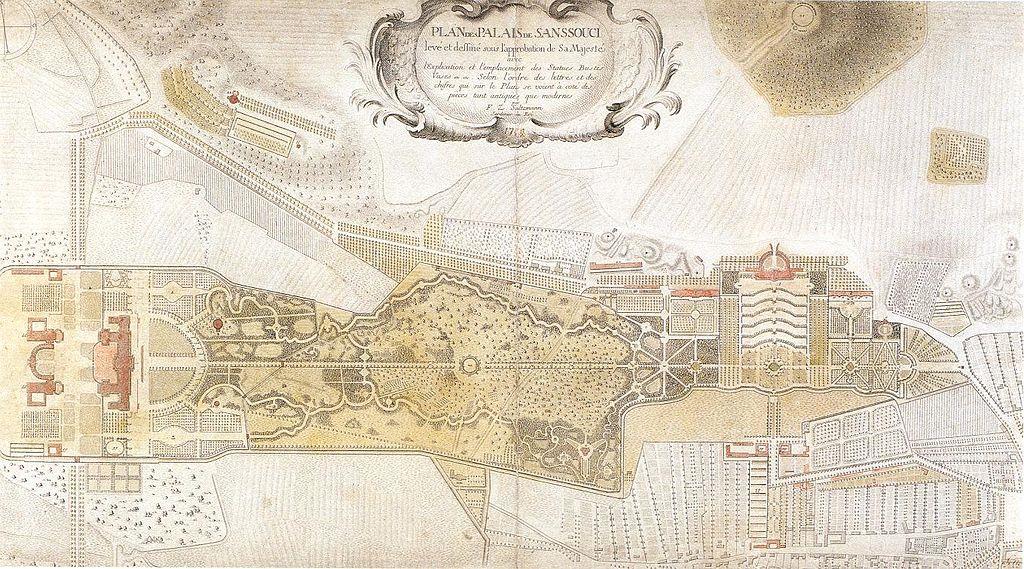 Park Sanssouci Plan (Saltzmann-Plan Sanssouci)