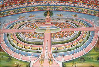 Arihant (Jainism) - Samavasarana (divine preaching hall) where omniscient Arihantas preach