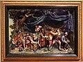Samuel percy, scena rustica con accampamento di zingari, 1800 ca, cera policroma, 01.jpg