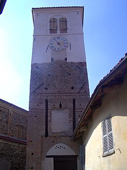 Gate-Tower of San Martino Canavese.