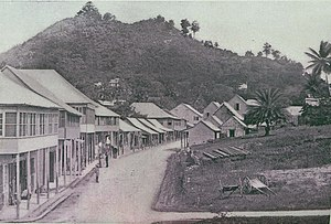 San Fernando, Trinidad and Tobago - San Fernando, High Street, 1890s