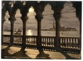 San Georgio from Doges' Palace by moonlight, Venice, Italy-LCCN2001701064.tif