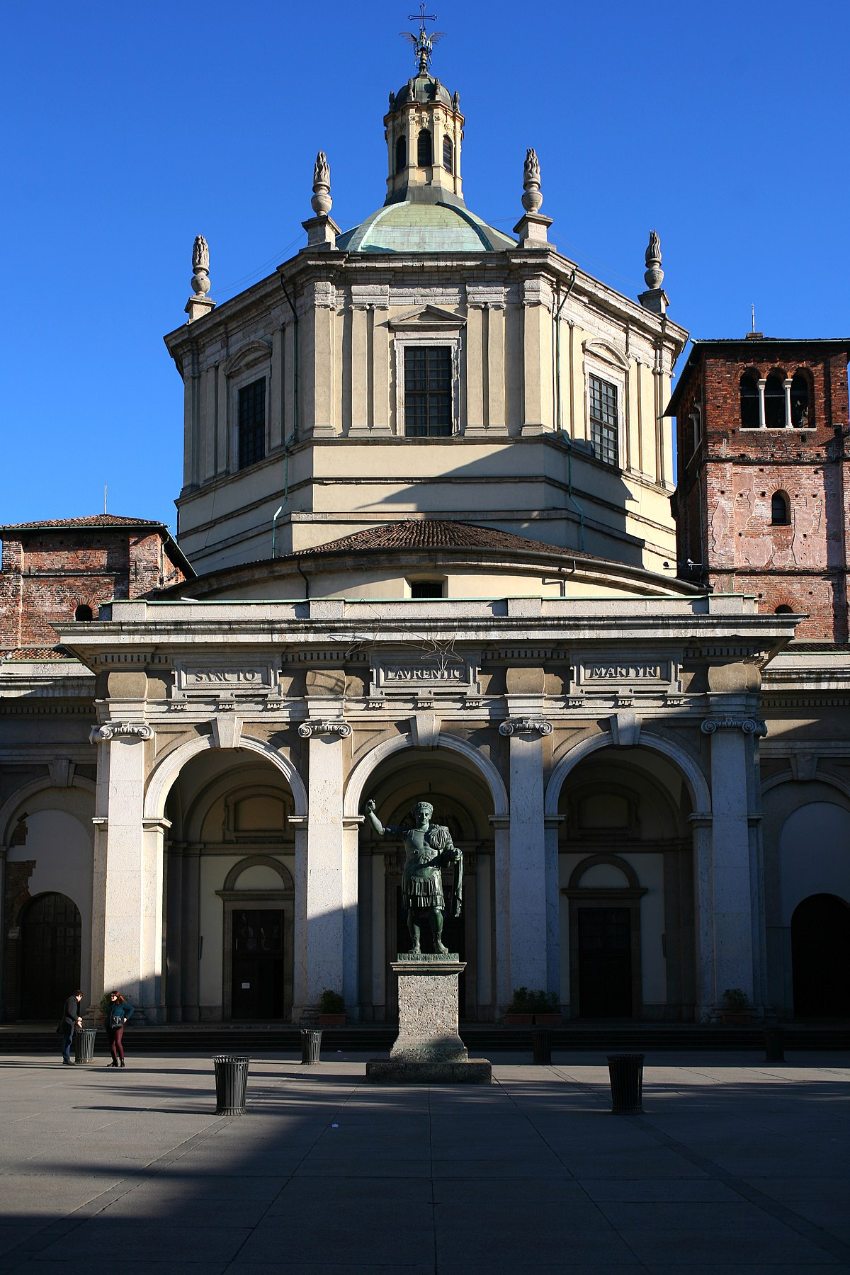 basilica di san lorenzo (milano) - wikipedia