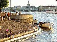 Εικόνα από τις όχθες του Νέβα στην Αγία Πετρούπολη