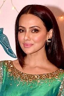 Sana Khan Indian actress and model