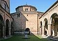 Sancta Jerusalem di Bologna. Quarta Chiesa, S. Sepolcro, vista dal Cortile di Pilato. - panoramio.jpg