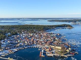 Sandhamn Place in Värmdö Municipality, Sweden