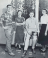 Sandy Union High School junior student council 1958.png