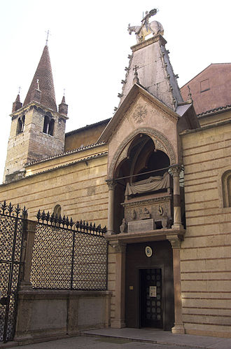 Scaliger Tombs - Image: Santa Maria Antica VR