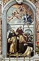 Santa Maria del Rosario (Venice) Sebastiano Ricci - St Pius, St Thomas of Aquino and St Peter Martyr.jpg