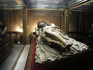 Cristo Yacente of El Pardo - Image: Santisimo Cristo de El Pardo 2
