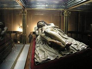 Cristo Yacente of El Pardo