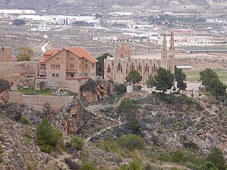 Novelda - Image: Santuario de Stª.Maria Magdalena. Novelda panoramio