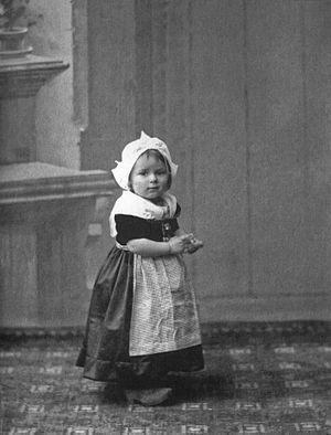 Ariadna Scriabina - Ariadna at the age of two or three in Amsterdam