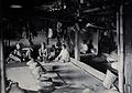 Sarawak; interior of a Kadayan tribal house, with a meal lai Wellcome V0037473.jpg