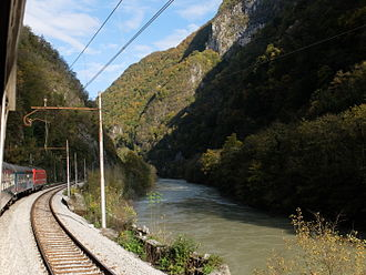 Sava - Sava gorge between Ljubljana and Trbovlje
