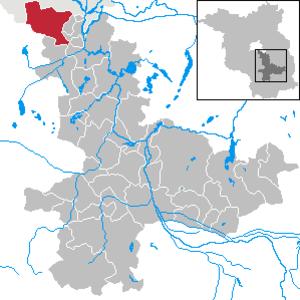 Schönefeld - Image: Schönefeld in LDS