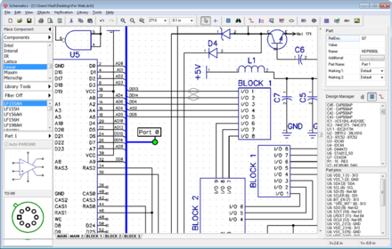 DipTrace - Wikiwand on logic synthesis, electronic design automation, digital electronics, schematic editor,