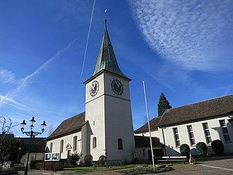 Schlieren, Switzerland - Image: Schlieren Kirche ref