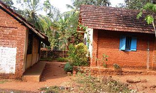 Idimuzhikkal village in Kerala, India