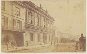 Sydney Mechanics' School of Arts - School of Arts building, Pitt Street, 1869