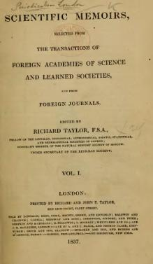 Scientific Memoirs, Vol. 1 (1837).djvu