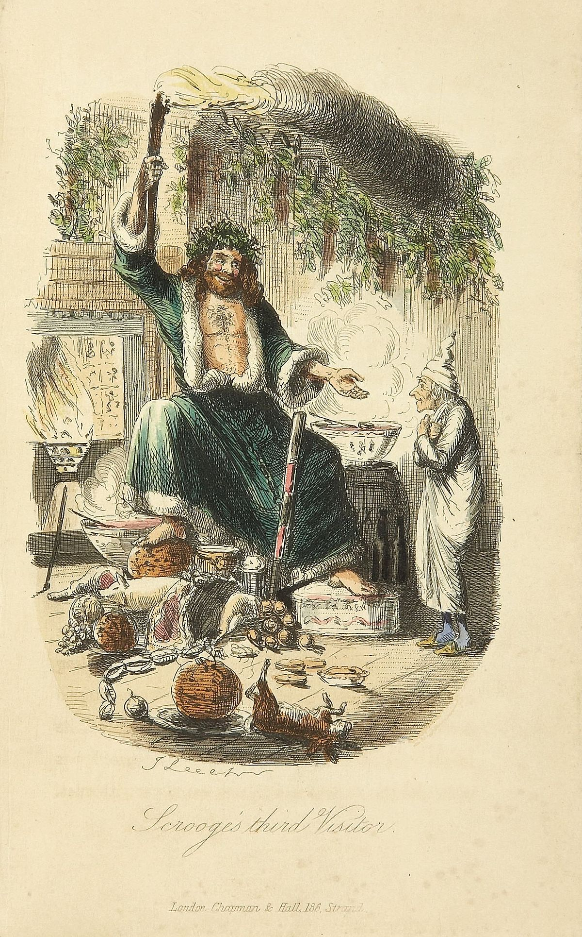 ghost of christmas present wikipedia - A Christmas Carol Full Text