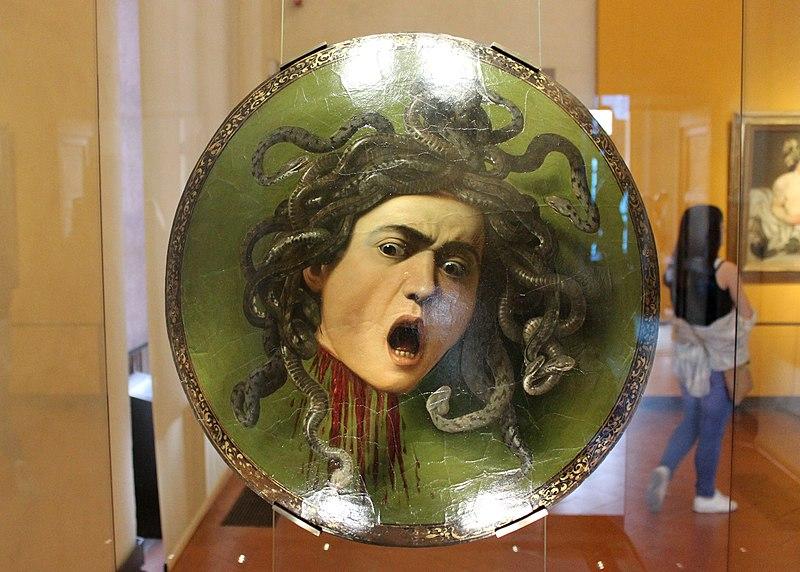 File:Scudo con testa di Medusa, Caravaggio (1597).jpg