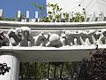 """Sculpture """"The New World"""" on the exterior of the Edward R. Roybal Federal Building and Courthouse, Los Angeles, California LCCN2010719827.tif"""