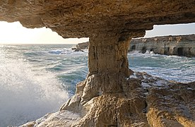 Sea caves Cape Greco 2.jpg