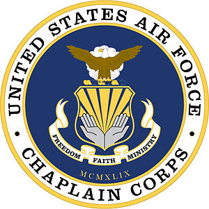 United States Air Force Chaplain Corps - United States Air Force Chaplain Service coat of arms.