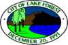 Official seal of Lake Forest, California