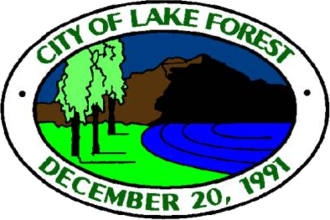 Lake Forest, California - Image: Seal of Lake Forest, California