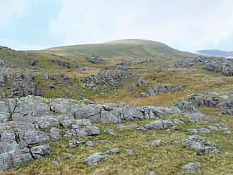 Seatallan - Seatallan seen from an ascent on its southern slopes from Nether Wasdale.