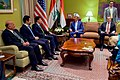 Secretary Kerry and His Advisers Meet With Kurdistan Regional Government Prime Minister Barzani, Deputy Prime Minister Talabani, and Chief of Staff Dr. Hussein in Baghdad (26307197955).jpg