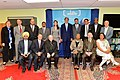Secretary Kerry and UNHCR Special Envoy Jolie Pitt Pose for a Photo With Interfaith Leaders at an Iftar Reception to Mark World Refugee Day (27205500554).jpg