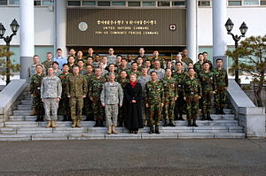 United Nations Command - Headquarters of the United Nations Command and ROK-US Combined Forces Command in 2009.