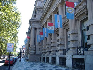 Rosariazo - The former Police Headquarters of Rosario, now a delegation of the provincial government