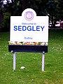 Sedgley Village Sign - geograph.org.uk - 1397844.jpg
