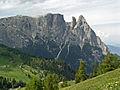 Seiser Alm, Schlern - panoramio.jpg