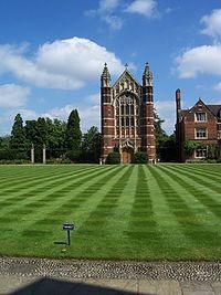 Selwyn College Cambridge - green and chapel.jpg