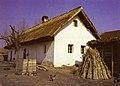 Seoska kuća u Ruskom Krsturu, dvorišna fasada.jpg