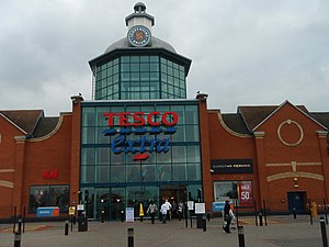 Hampton, Peterborough - Serpentine Green Tesco shopping centre