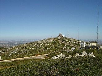 Bombarral - The rock-covered hilltop of the Serra de Montejunto