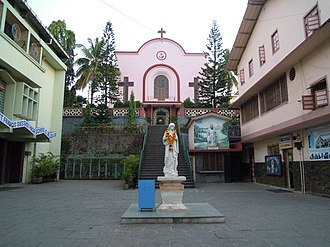 Saint Francis D'Assisi High School - The iconic St. Francis Chapel